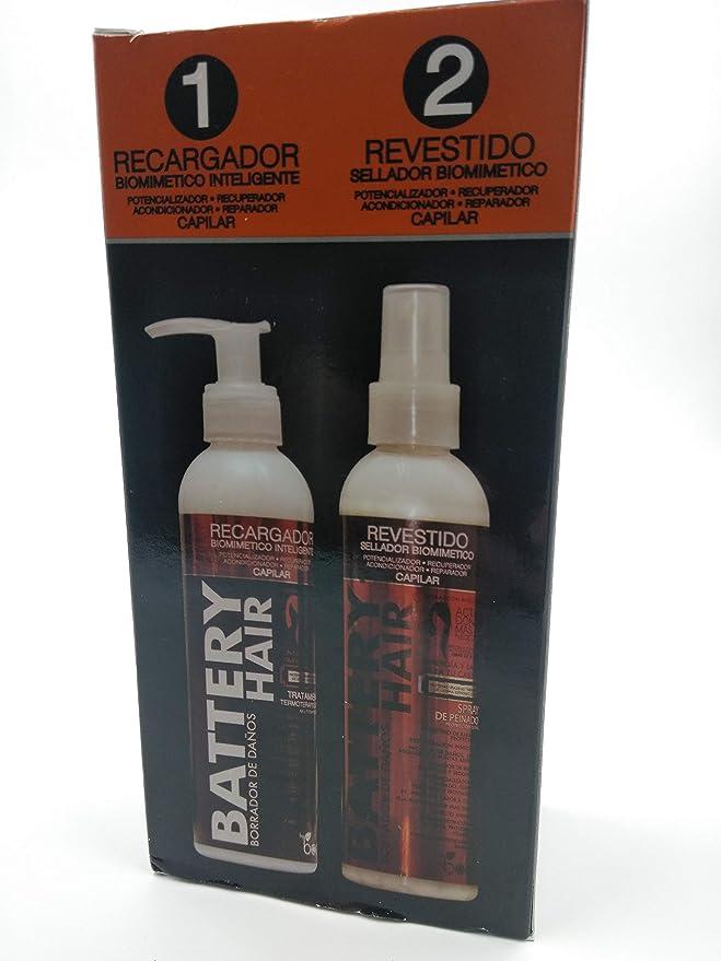 Regenerador capilar Battery Hair 230g cada- Kit Biomimético ...