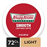 Krispy Kreme Doughnuts, Keurig Single-Serve K-Cup Pods, Smooth Light Roast Coffee, 72 Count (6 Boxes of 12 Pods)