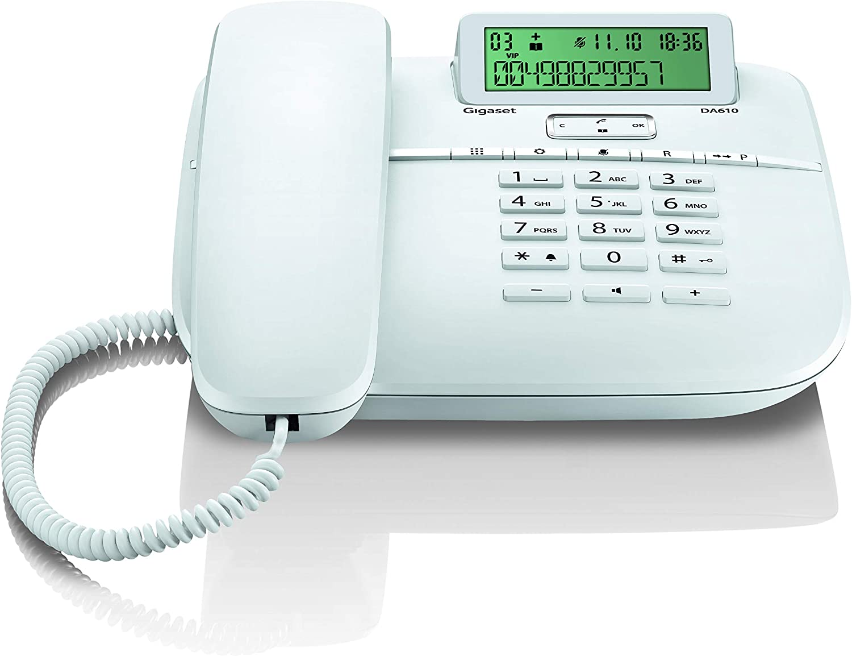 Blanco Gigaset DA611 Tel/éfono Fijo