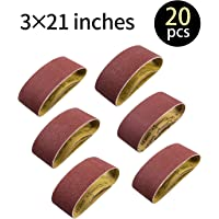 5-Pack, 81432 4-Inch x 24-Inch 100 Grit 3M  Purple Regalite Resin Bond Sanding Belt