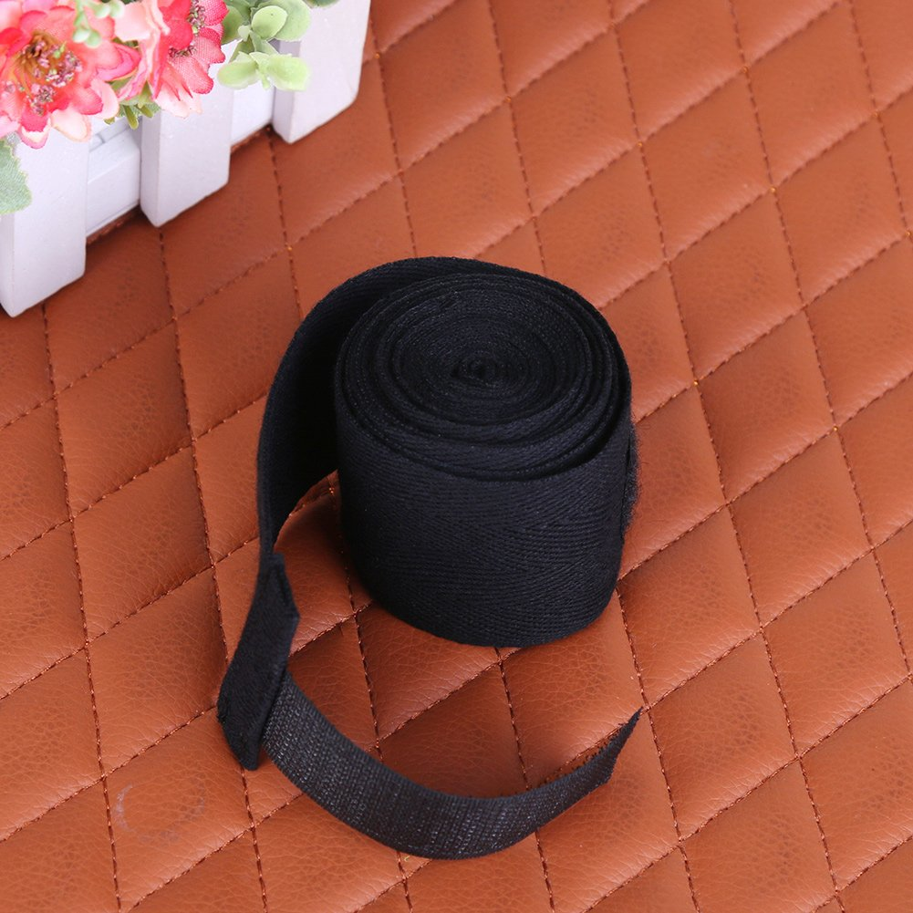 Demiawaking Sport Strap Boxbandage Muay MMA Taekwondo Hand Handschuh Wrap schwarz