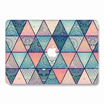 AQYLQ Funda Dura para MacBook Air 13 Pulgadas (A1369 / A1466), Ultra Delgado Carcasa Rígida Protector de Plástico Acabado Mate Cubierta, CY26 Flor de ...