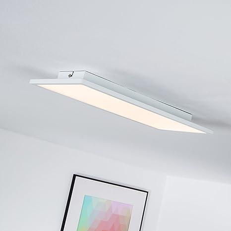 Lámpara de techo, Panel LED 20 W, 45 x 20 cm, rectangular ...