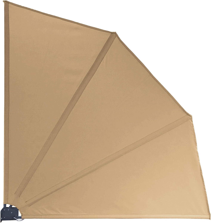 Amazon De Quick Star Sichtschutz Facher 115 X 115 Cm Blickdicht
