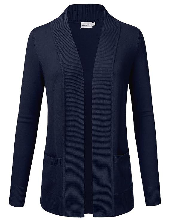 sweater azul oscuro de mujer abiertohttps://amzn.to/2Rri7ym