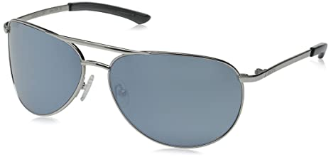 50b514d4f7 Image Unavailable. Image not available for. Colour  Silver Frame And  Platinum Lens   Smith Optics Serpico Slim Sunglasses