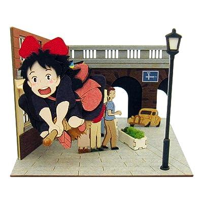 Sankei Studio Ghibli Mini Kiki's Delivery Service MP07-82 Arrived in Koriko Paper Craft: Toys & Games