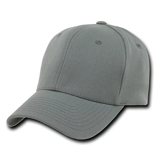 756eab2f628 Image Unavailable. Image not available for. Color  DECKY Ultra Flex One Baseball  Caps Blank ...