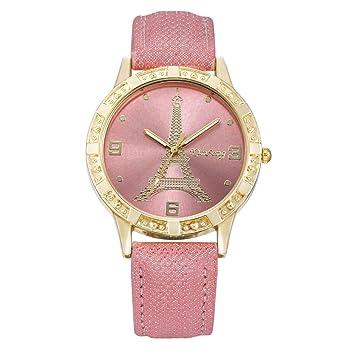 Z&YQ Mujer Reloj de Vestir Reloj de Moda Cuarzo Esfera Grande La imitación de Diamante Brillante