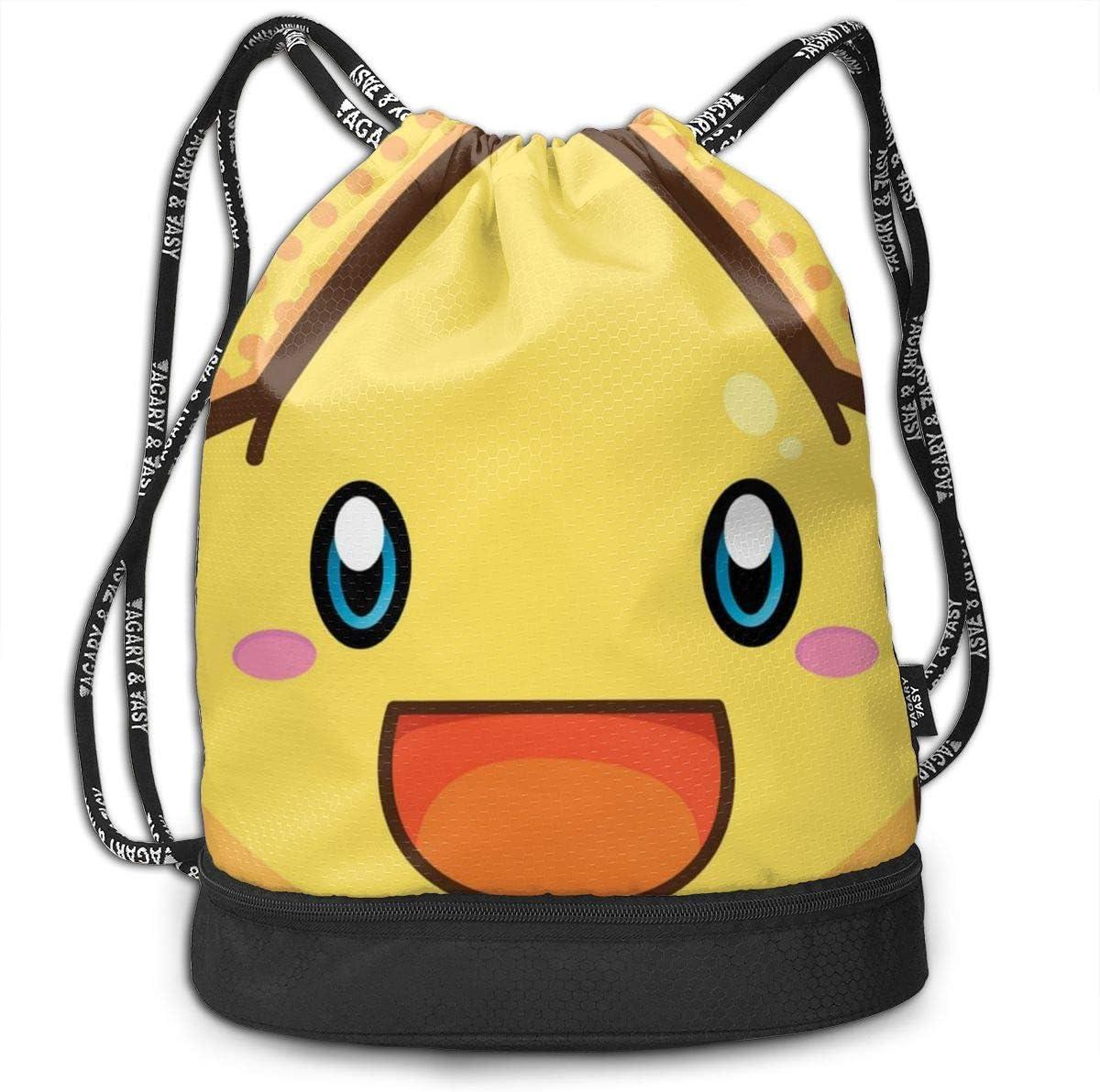 Drawstring Backpack Little Stars Bags Knapsack For Hiking