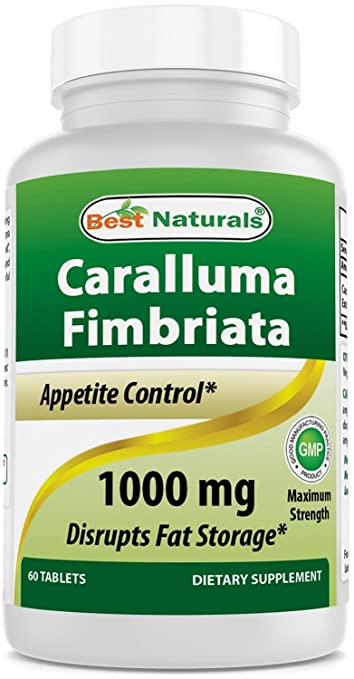 Best Naturals Caralluma Fimbriata Appetite Suppressant And Weight Loss Diet Supplement 1000mg 60