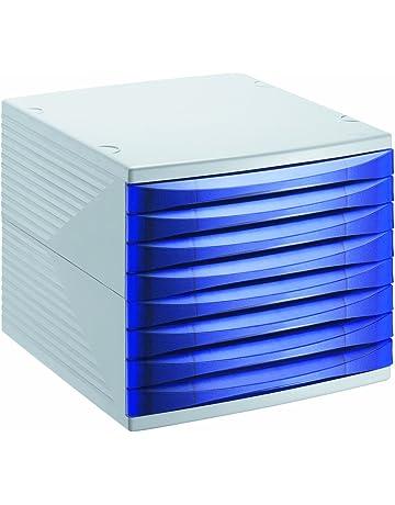 Rotho Quadra 10800MK000 Cajón archivador de Oficina, poliestireno, Formato A4, Aprox. 37