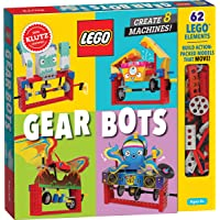 Lego Gear Bots: Create 8 Machines