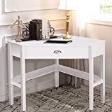Amazon Com Target Marketing Systems Wood Corner Desk With