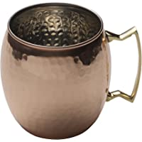 Mikasa Moscow Mule Copper Barrel Mug with Brass Handle