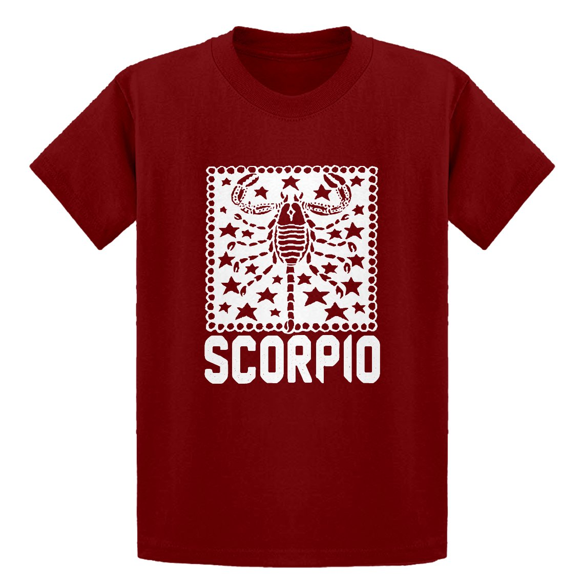 Indica Plateau Youth Scorpio Zodiac Astrology Kids T-Shirt