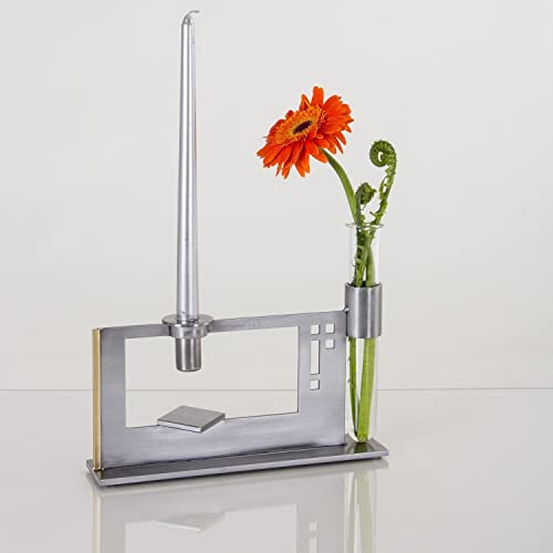 Amazon Finestra Double Candle Holder And Vase Laser Cut And