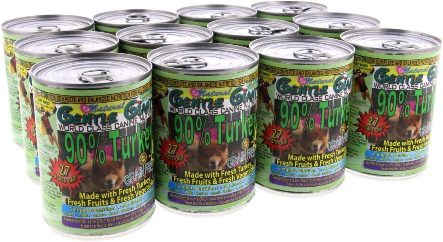 Análisis de la comida para perros Gentle Giants 11