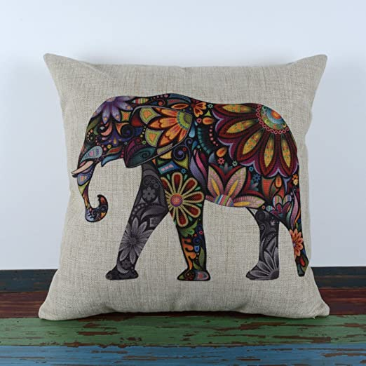 Animal colorido brillante LINKWELL 45,72 cm x 45,72 cm sofá ...
