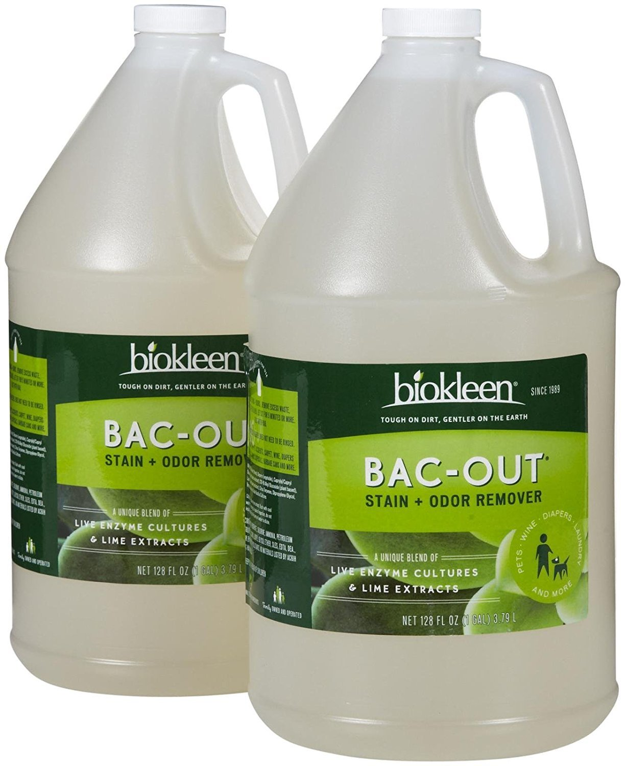 Biokleen Bac Out Stain Odor Remover Foam Spray Destroys