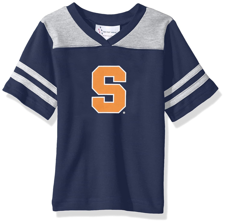 Navy Two Feet Ahead NCAA Syracuse Orange Toddler Boys Football Shirt 2