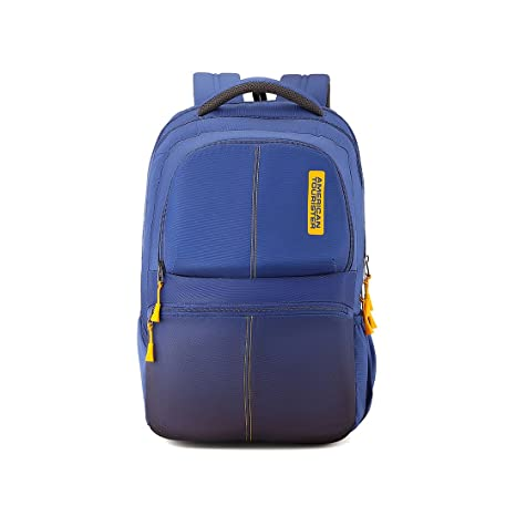 3f65a0868b8d American Tourister 30.5 Ltrs Teal Laptop Backpack (AMT Helix Laptop Bag 01  Teal)  Amazon.in  Bags
