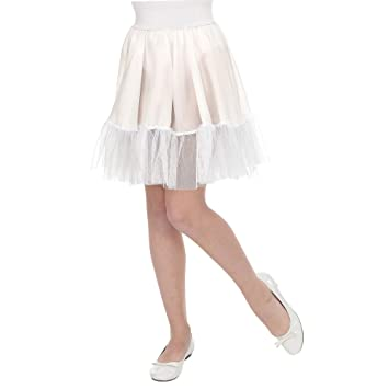 WIDMANN Srl falda termopar blanca de niña Elementos de ropa ...