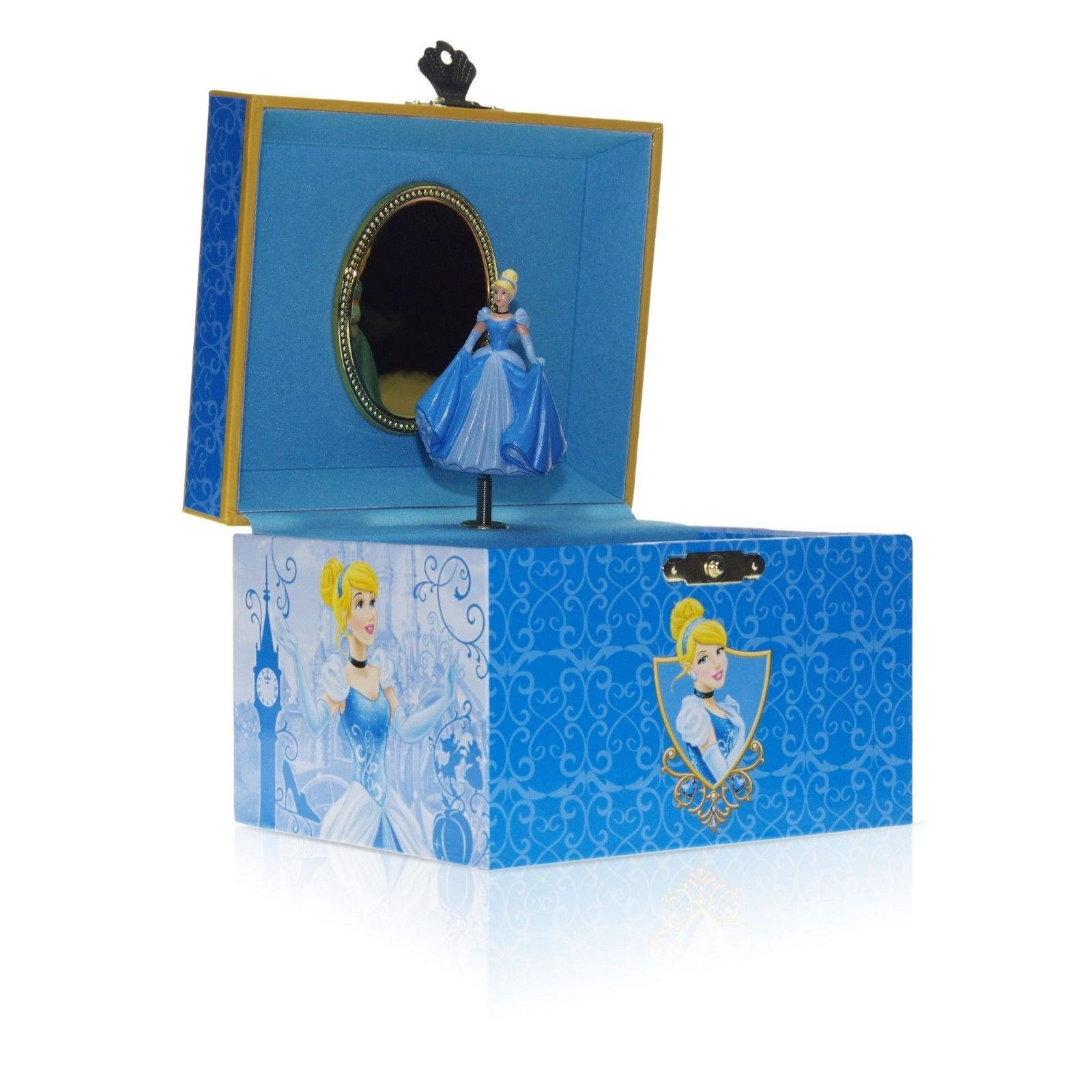 Disney Parks Cinderella Musical Jewelry Box So this is Love
