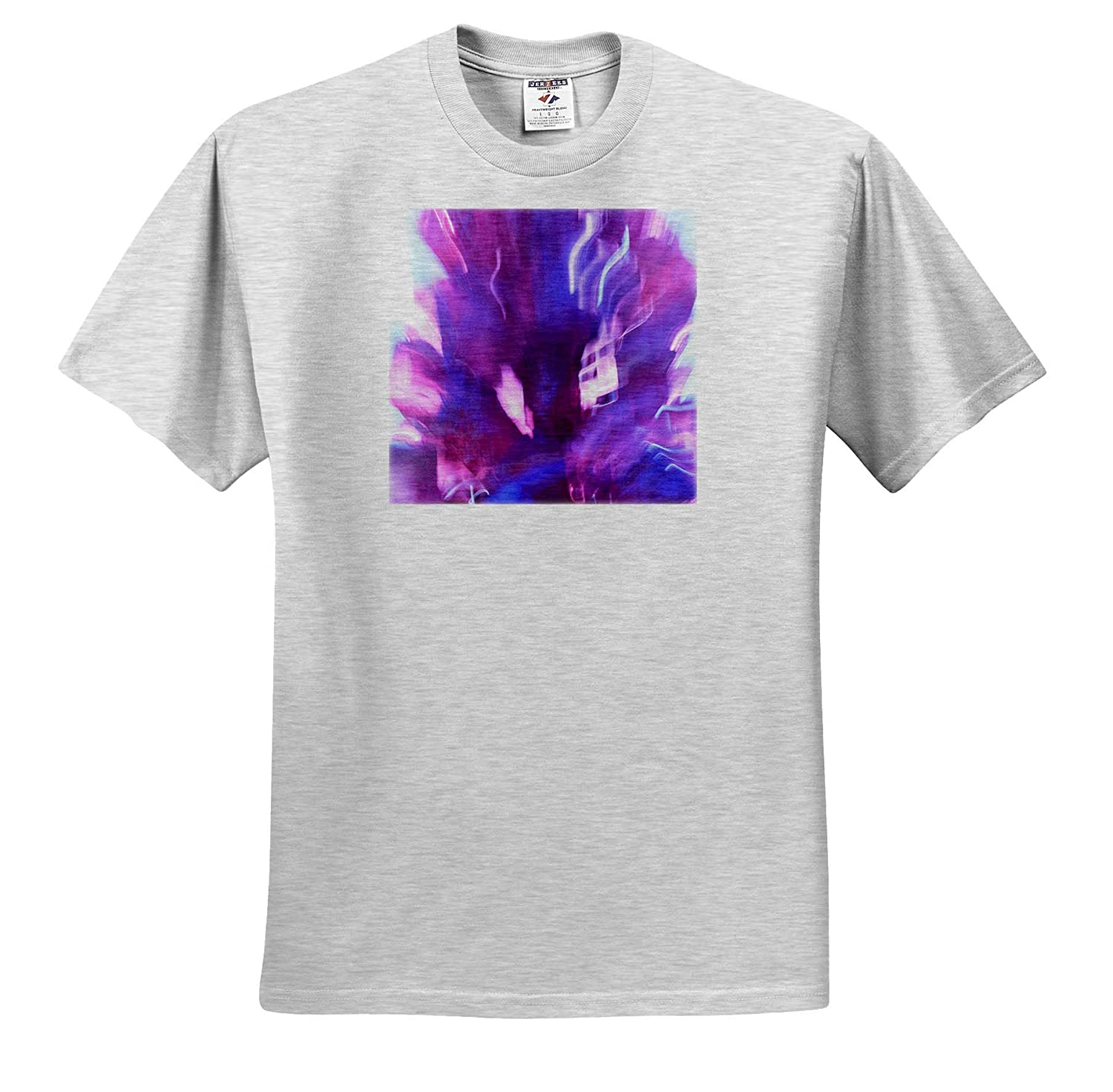 Abstracts Colorful Glass with Blurred Motion - Adult T-Shirt XL 3dRose Danita Delimont ts/_315180