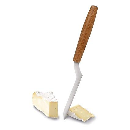 Boska Brie - Cuchillo con Mango de bambú (Acero Inoxidable, 29 x 8 x