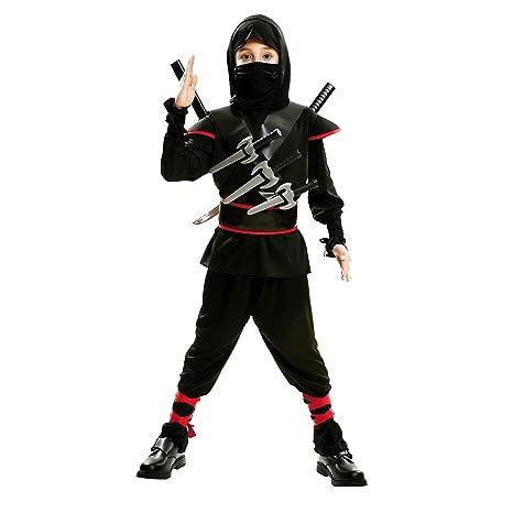 My Other Me Me-202041 peliculas y TV Disfraz de ninja killer para niño, Color negro, 5-6 años (Viving Costumes 202041