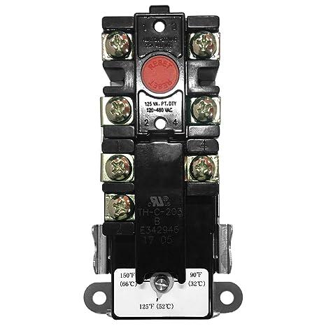 ZERO KSD203 - Termostato de agua para calentador de agua de ...