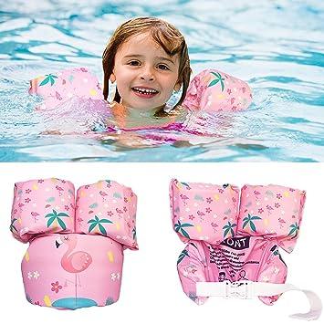 Child Baby Swim Arm Bands Boy//Girl Swimming Float Vest Puddle Jumper Life Jacket