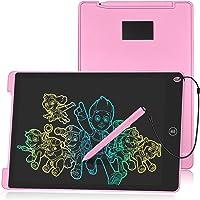 "HOMESTEC 12 ""Tableta Escritura LCD Color, Pizarra Digital para Apuntar Recordatorios, Escribir o Dibujar-Rosa"