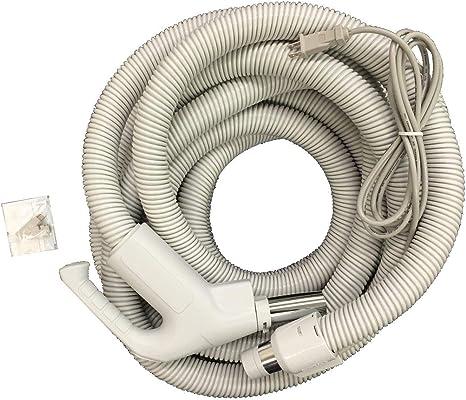 Pigtail cord for Plastiflex Central Vacuum Hose Black 8ft E124233