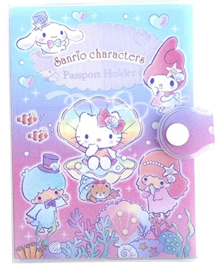 b92c0be1cad0 Glitter Cover MIX Characters Passport Holder Organizer Ziplock Pocket Card  Slots