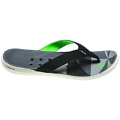 add696b2e51 adidas Outdoor Climacool Boat Flip Sandal - Men s Black Sharp Grey Grey  Rock 9  Amazon.ca  Shoes   Handbags