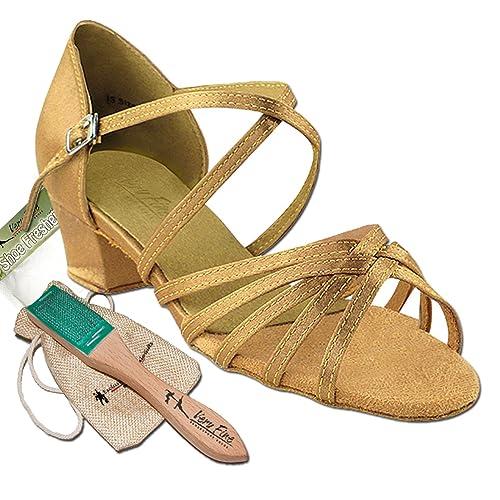Ligera Fina Salsa Latina Práctica De Zapatos Bundle Mujer Muy Baile dA6qE6