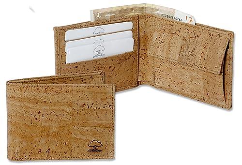 BULLSPORT Cartera de Corcho, Tarjetero, Billetero y Monedero - 392: Amazon.es: Zapatos y complementos