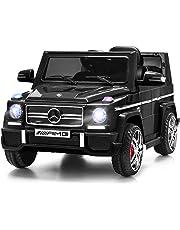 Costzon Kids Ride On Car, Licensed Mercedes Benz G65, 12V Electric RC Remote Control Car (Black)