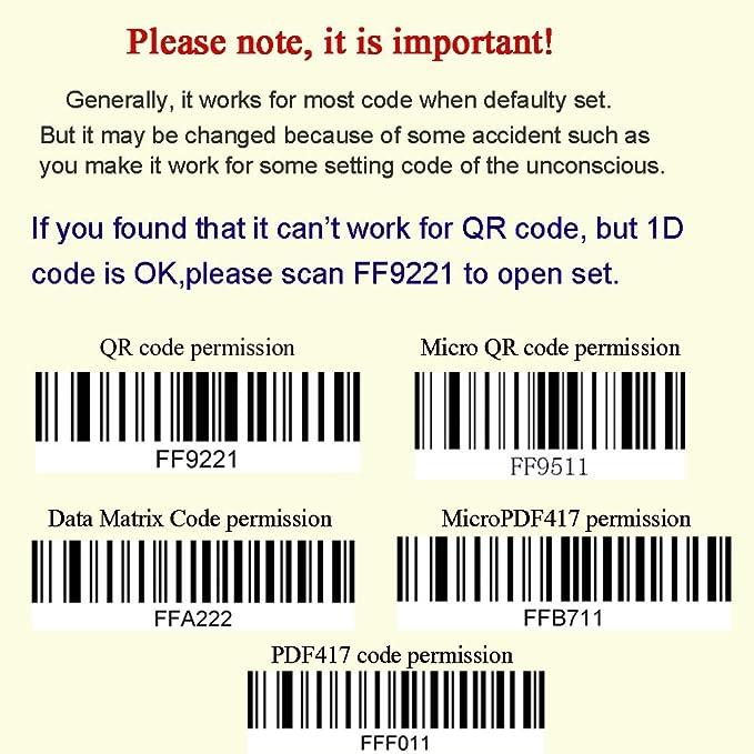 Kercan Automatic CCD Wired USB 2D QR PDF417 Data Matrix Barcode Scanner CCD  Bar Code Reader
