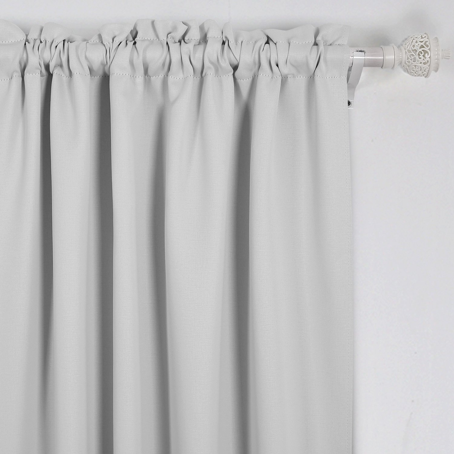ebay length blackout thermal curtains curtain grommet p s top antique navy insulated inch brass