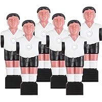TOYANDONA 6 adet Foosball Erkek Turnuva Tarzı Futbol Masası Futbol Erkek Oyuncu İç Mekan Oyunları Yedek Parça