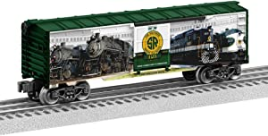 Lionel Railroad Heritage Series, Electric O Gauge Model Train Cars, Southern 125 Boxcar