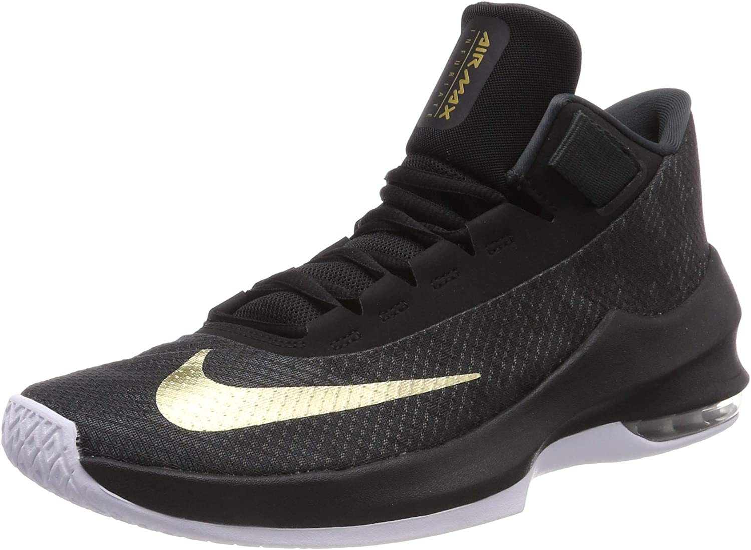 Nike Air Max Infuriate 2 Mid, Chaussures de Basketball Homme