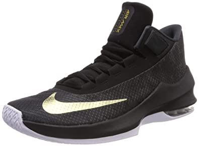 40795ac91fe Nike Men s Air Max Infuriate 2 Mid Basketball Shoes  Amazon.co.uk ...