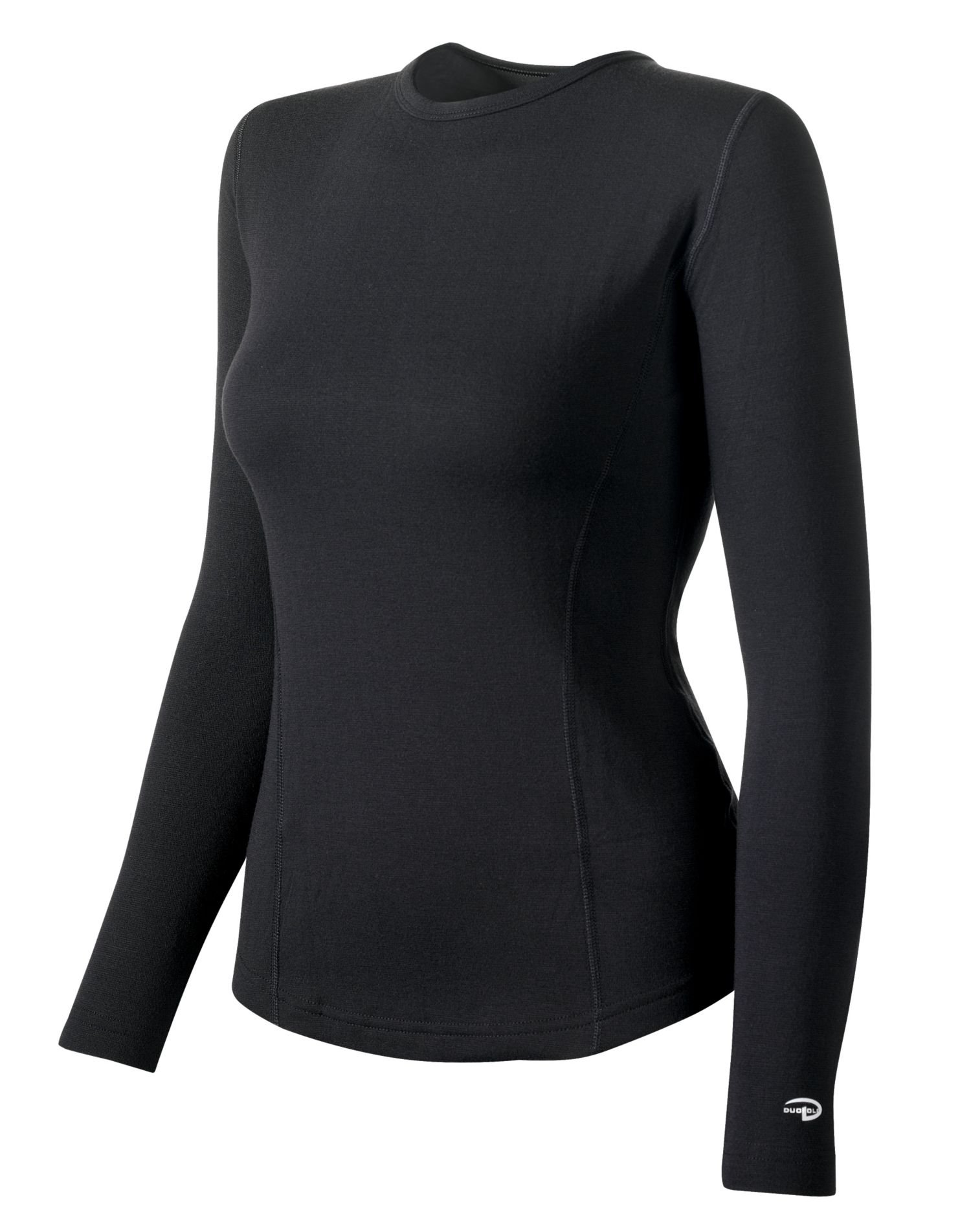 Duofold Women's Expedition Weight Two-Layer Thermal, Black, Medium