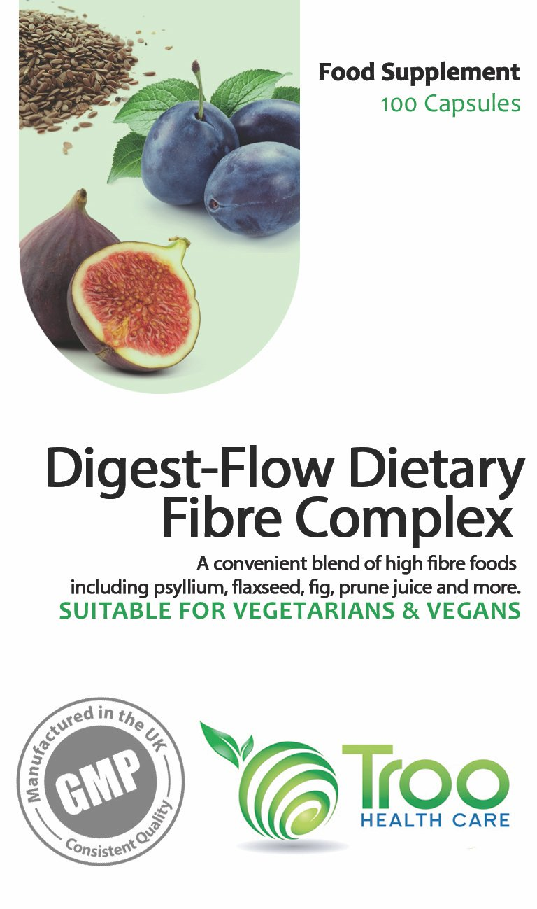 Amazon.com: digest-flow Fibra alimentaria Complex 100 ...