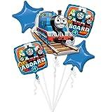 Anagram 86180 Licensed Balloon Bouquet, Blue