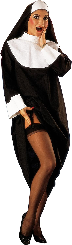César - Disfraz de monja sexy con hábito para mujer (adulto), talla 38/40 cm